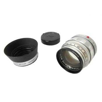 LEICA SUMMILUX 1:1.4 50mm 1st 後期 フード・フィルター付 画像