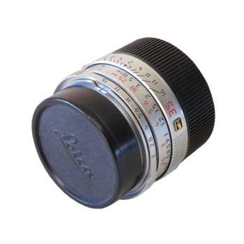 ライカ レンズ LEICA SUMMICRON-M 1:2/35mm カメラ用ストラップ付 画像