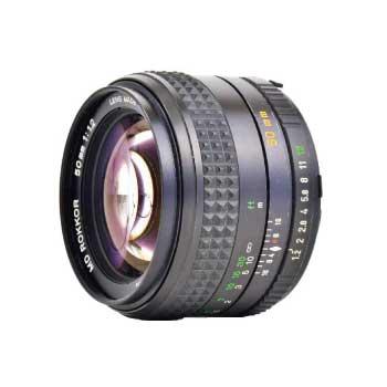 MINOLTA SRマウント MD ROKKOR 50mm F1.2 単焦点 大口径レンズ 画像