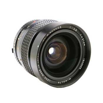 MINOLTA MC W.ROKKOR 21mm F2.8 ミノルタ カメラレンズ 画像
