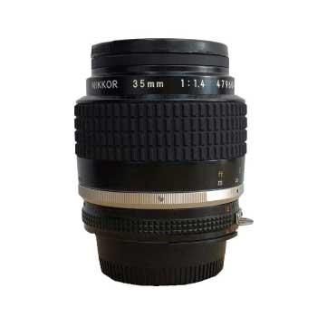 NIKKOR ニッコール 35mm 1:1.4 カメラ レンズ 画像