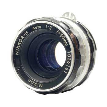 Nikkor H 50mm f2 Fマウント オート マニュアル フィルム カメラ Ai-S 画像