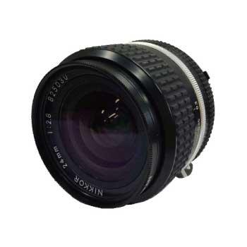 NIKKOR ニッコール 24㎜ 1:2.8 カメラレンズ 画像