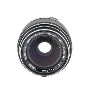 OLYMPUS オリンパス ZUIKO MC AUTO-W 28mm F2 単焦点 広角レンズ OMマウント 画像