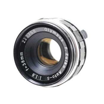 オリンパス Olympus F.Zuiko Auto-s 38mm F1.8 カメラレンズ 画像