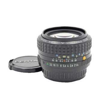PENTAX ペンタックス smc PENTAX-A 50mm F1.4 単焦点 標準レンズ Kマウント 画像