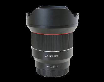 サムヤン AF14mm F2.8 FE レンズ 美品 画像
