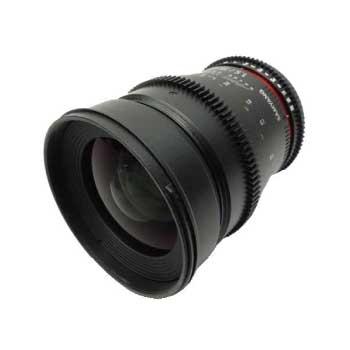 SAMYANG 35mmT1.5 VDSLR AS UMC αマウント レンズ 画像
