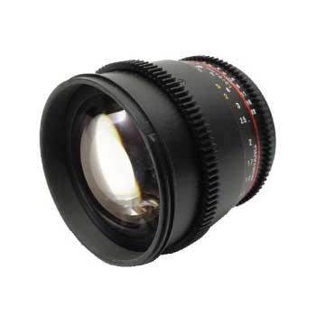 SAMYANG 85mm T1.5 VDSLR AS IF UMC αマウント レンズ 画像