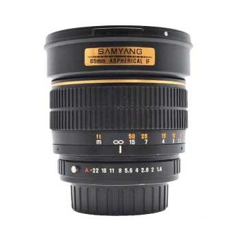 サムヤン 85mm F1.4 ASPHERICAL IF Kマウント 中望遠単焦点レンズ 画像