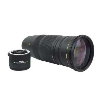 SIGMA 120-300mm1:2.8 APO DG HSM 望遠 カメラレンズ キヤノン用 テレコン付き 画像
