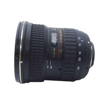 TOKINA AT-X PRO SD 12-24 F4 (IF) DX ii Nikon用 レンズ レンズフード付き 画像
