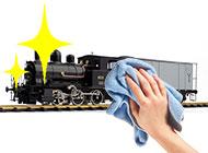鉄道模型のメンテナンス画像