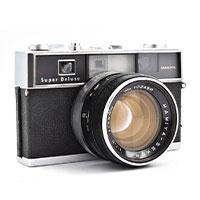 マミヤ 35 SUPER DELUXE フィルムカメラ画像