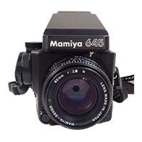 マミヤ 645 中判一眼レフカメラ画像