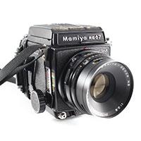 マミヤ RB67 Pro S 中判フィルム一眼レフカメラ画像