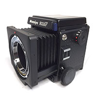 マミヤ RZ67 中判一眼レフカメラ画像