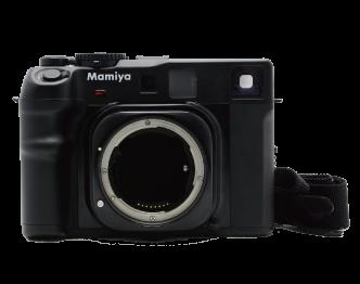 マミヤ(Mamiya) Mamiya 6 MF フィルムカメラ レンズ 3点セット 中古品 画像