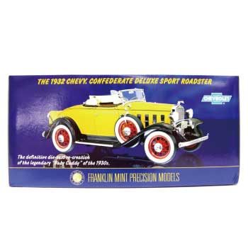 FRANKLIN MINT(フランクリンミント)1932 CHEVY CONFEDERATE ROADSTAR画像