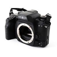 ミノルタ α-7 フィルム一眼レフカメラ画像