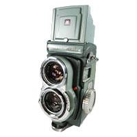 ミノルタ miniflex ROKKOR 二眼レフカメラ画像
