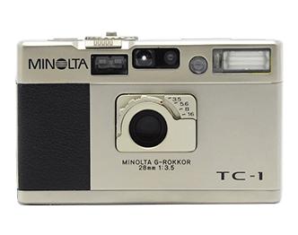 ミノルタ TC-1 コンパクトカメラ画像