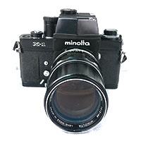 ミノルタ X-1 一眼レフカメラ画像