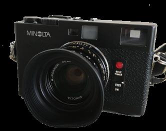 ミノルタ(MINOLTA) CLE フィルムカメラ/M-ROKKOR 中古品 画像