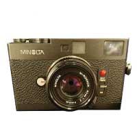 ミノルタ(MINOLTA) CLE ボディ M-ROKKOR 40mm 1:2 レンズ 中古品 画像