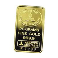 三菱マテリアル 純金インゴット 50g画像