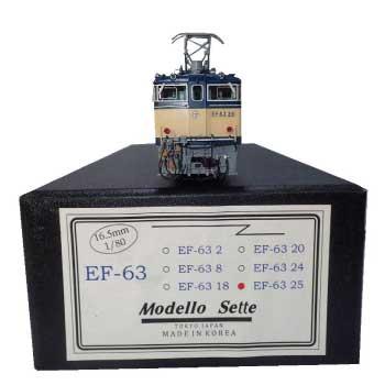 1/80 16.5mm モデロセッテ製 国鉄EF6325号機 完成品 画像