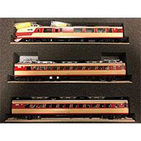 鉄道模型 Modello Sette モデロセッテ 1/80 HOゲージ 151系特急電車 つばめ 11両編成画像