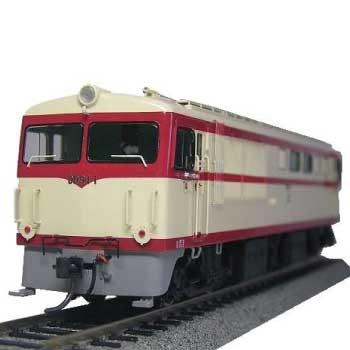 1/80 16.5mm 試作ディーゼル機関車 DD91 1 (福知山) メーカー完成品 画像