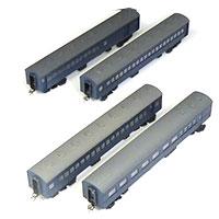 鉄道模型 中村精密 HO 青色客車 スハニ35 スハ44 スハフ43 マシ35画像