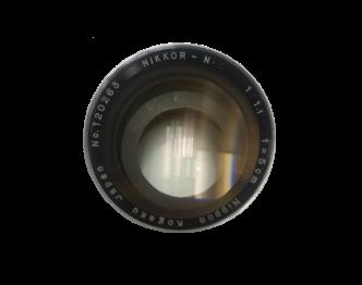 ニコン 一眼レンズ NIKKOR-N 1:1.1 f=5cm 大口径 単焦点 中古品 画像