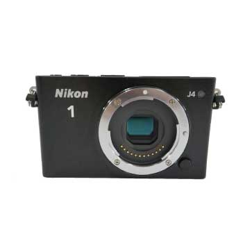 Nikon1 J4 ダブルズームキット ブラック J4WZBK 画像