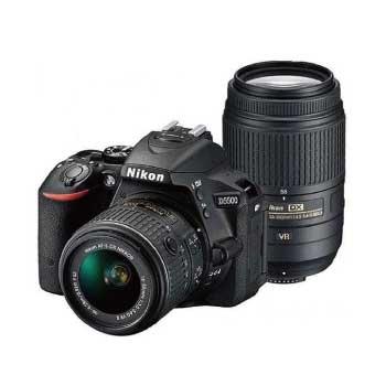 デジタル一眼レフカメラ D5500 ダブルズームレンズキット ブラック 画像