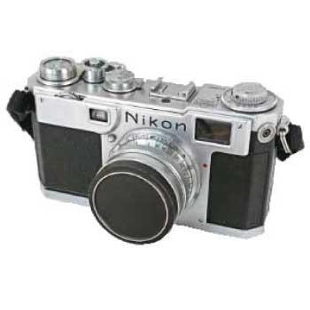 Nikon ニコン S2 前期型 レンジファインダー カメラ 中古品 画像