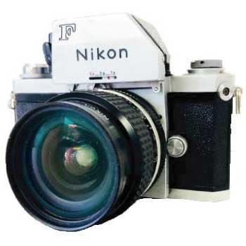 Nikon F ニコンFフォトミックFTN シルバー 美品 画像