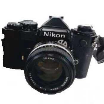 Nikon ニコン クラシックカメラ 一眼 レンズ 50mm 1:1.4 ケース付き CF-27 中古品 画像
