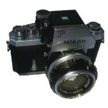 ニコンF 一眼レフカメラ フォトミックファインダー 50mmレンズ 中古品 画像