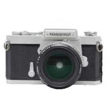 Nikon ニコン Nikkormat FS + AI NIKKOR 28mm 2.8 Fマウント 中古品 画像