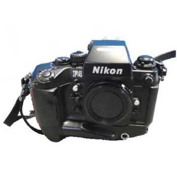 NIKON ニコン 一眼レフカメラ F4S バッテリーパック MB-21付き 中古品 画像