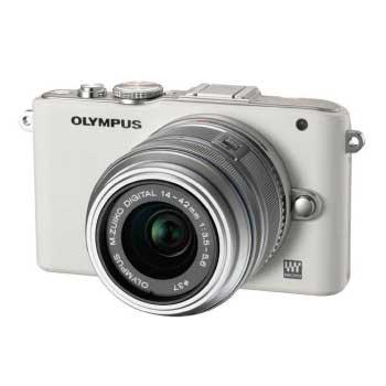 オリンパス PEN Lite E-PL3 レンズキット ホワイト 画像