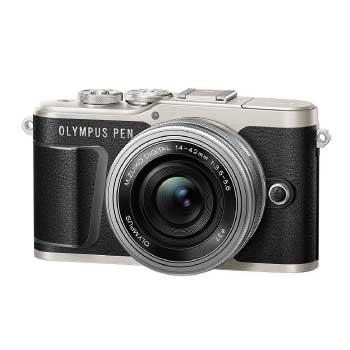 ミラーレス一眼カメラ PEN E-PL9 レンズキット ブラック 画像