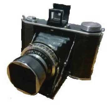 オリンパスシックスI 蛇腹カメラ 昭和14年(1939年) 中古品 画像