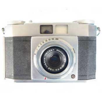 クラシック フィルム カメラ オリンパス OLYMPUS WIDE 中古品 画像