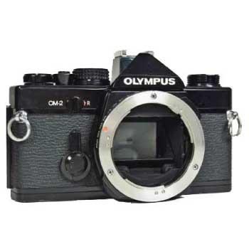 OLYMPUS OM-2 オリンパス ブラック フィルムカメラ 中古品 画像