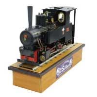 ライブスチーム 5インチゲージ コッペル KOPPEL 蒸気機関車 画像