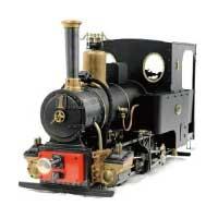 KRAUSS クラウス 0-4-0 3.5ゲージ ライブスチーム 鉄道模型 画像